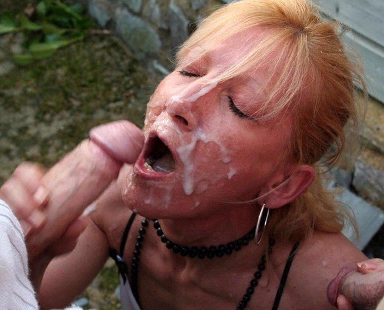 femme recouverte de sperme pute patong